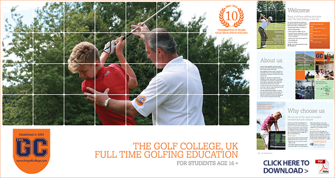 Golf College Brochure