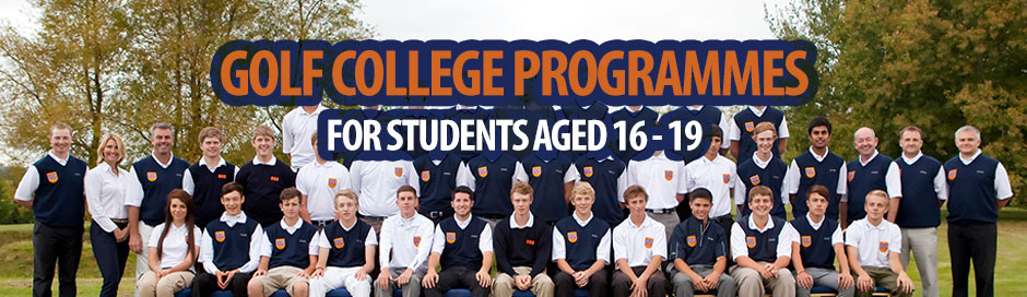 The Golf College - Golf Student Programmes 2018