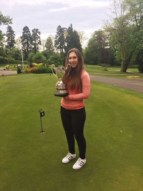 Gemma Allman - The Golf College Ladies Champion