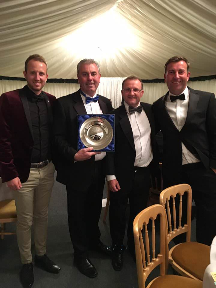 PGA Golf Coach of the year dinner awards 2017 - the Golf College