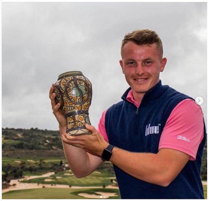 Golfer Liam Hancock