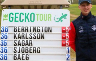 Golfer Piers Berrington