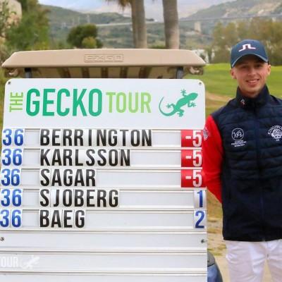 Golfer Piers Berrington
