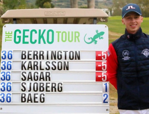 Piers Berrington WINS Gecko Tout Final at Villa Padierna Golf – Alferini