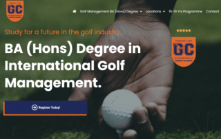 The Golf College BA (Hons) Degree Course