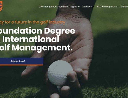 NEW Foundation Degree Website